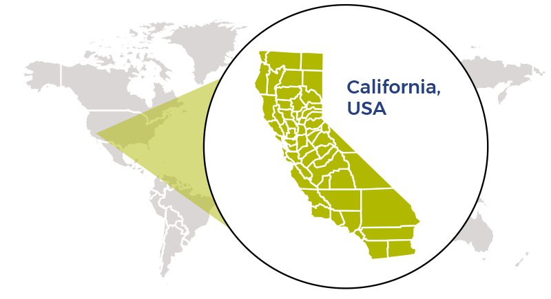 Real time Cal AgriScene map